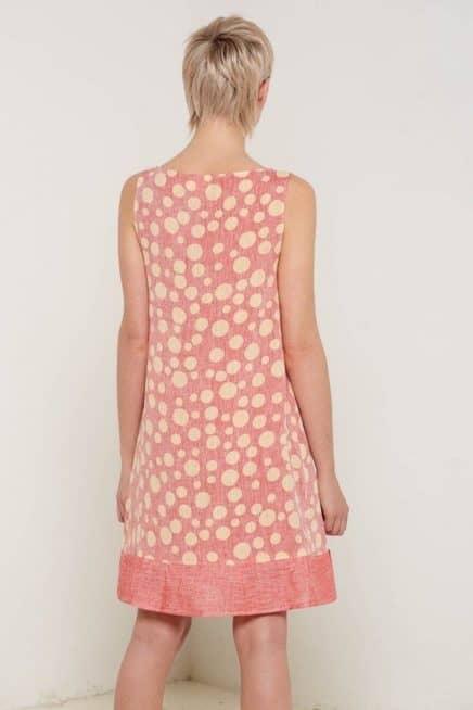 Arabella Dress Rose Back