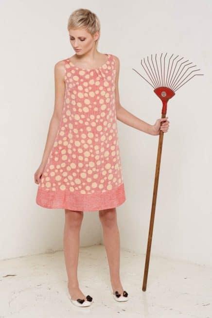 Arabella Dress Rose Full