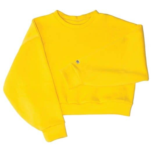Boo Sweater Yellow