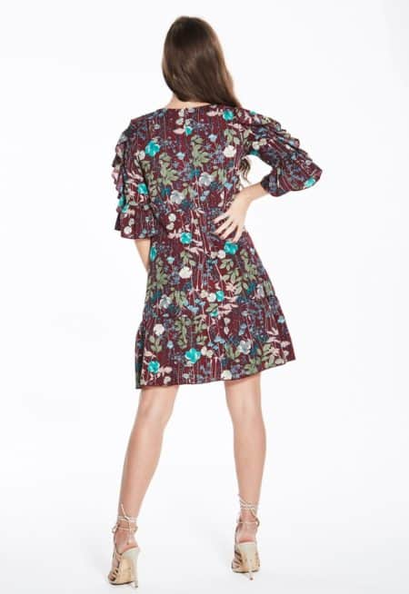 madam-rage-frill-sleeve-dress