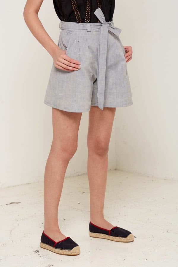 Isadora Shorts Blue Front