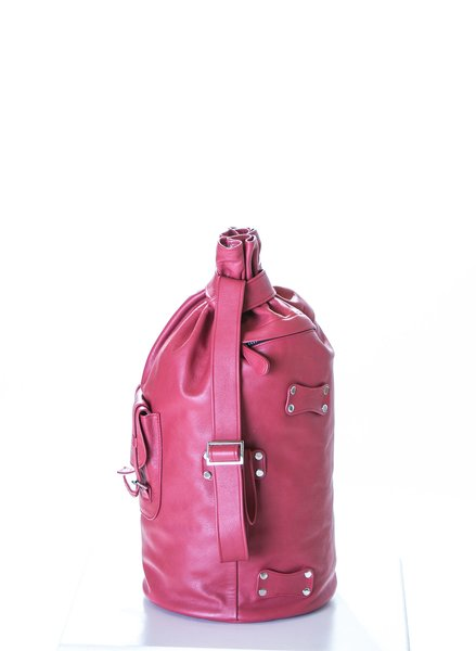 Piper Ray London Bus Leather Backpack 3