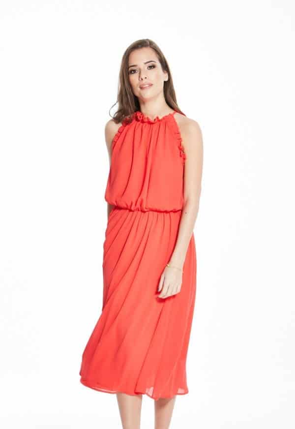 Madam-Rage-Red-Grecian-Midi-Dress