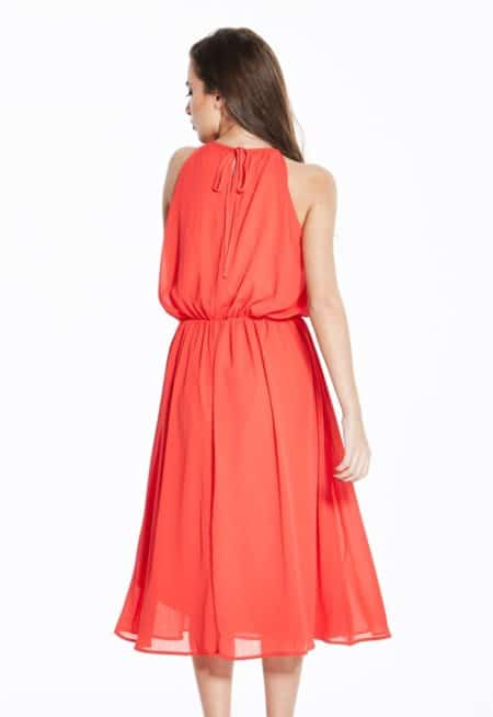 Madam-Rage-Red-Grecian-Midi-Dress