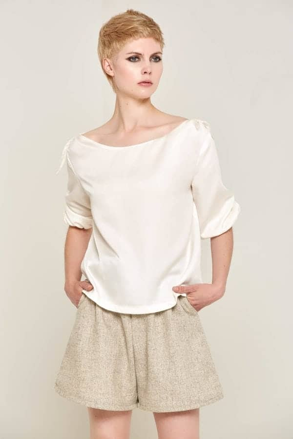 Shirley Top White Front