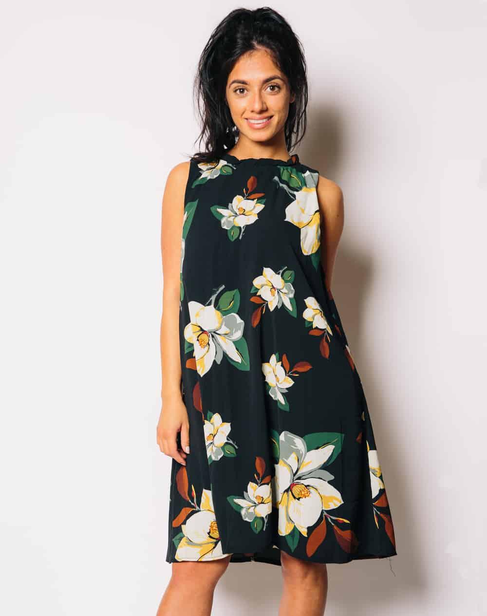floral-grecian-dress