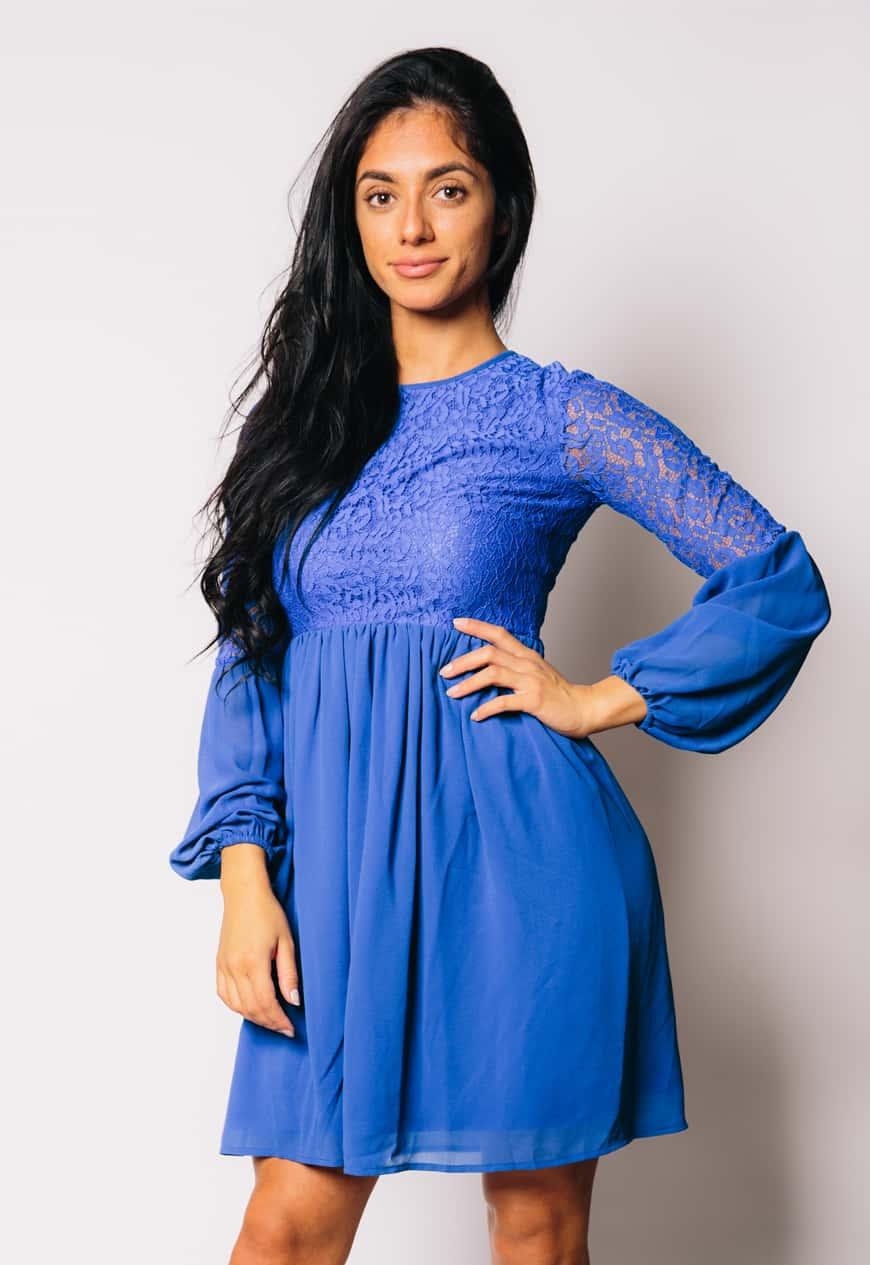 lace-chiffon-dress