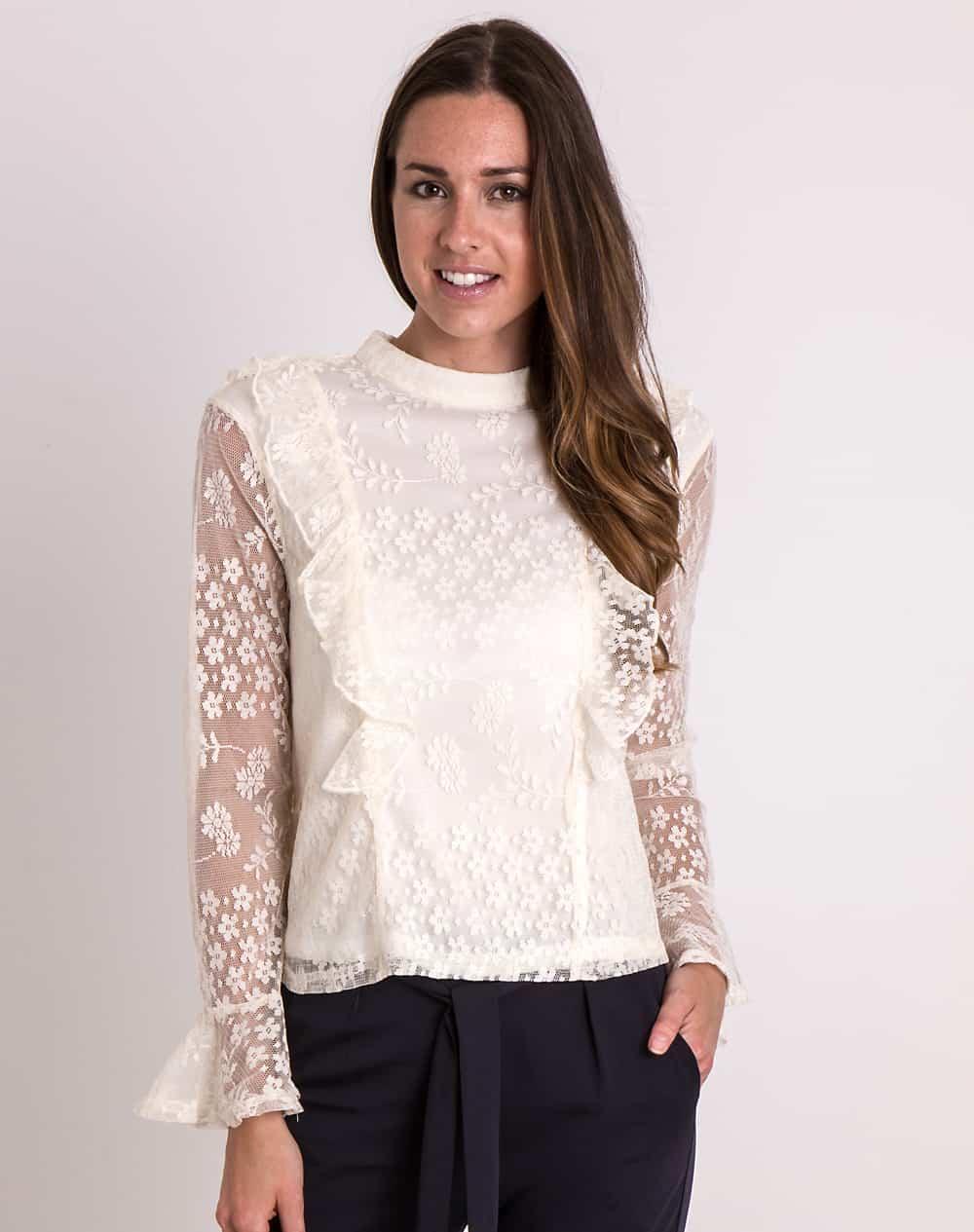 cream-lace-ruffle-blouse